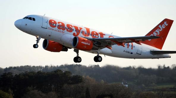 'An easyJet flight leaves Bristol Airport after the UK\'s skies reopened amid a continuing row over flying restrictions caused by the volcanic ash cloud. PRESS ASSOCIATION Photo. Picture date: Wednesd