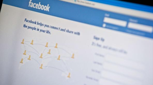 '(FILES) Photo taken on January 3, 2011 showing the homepage of social-networking giant Facebook. Facebook said on September 8, 2011 it would sign up to a voluntary code of conduct in Germany to prote
