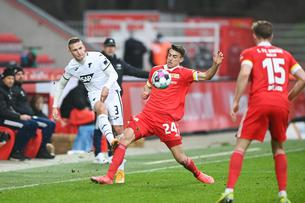 GES / Football / Union Berlin - 1899 Hoffenheim, 02/28/2021