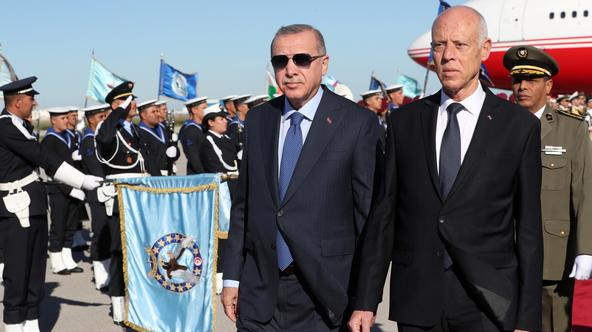 Erdogan i Kais Saied