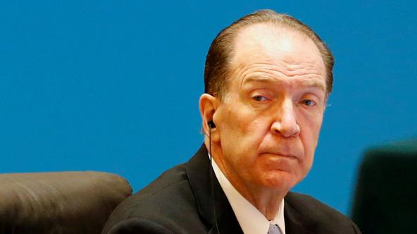 "FILE PHOTO: World Bank President David Malpass attends the ""1+6"" Roundtable meeting at the Diaoyutai state guesthouse in Beijing"