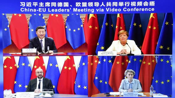 CHINA-BEIJING-XI JINPING-GERMANY-EU-MEETING (CN)