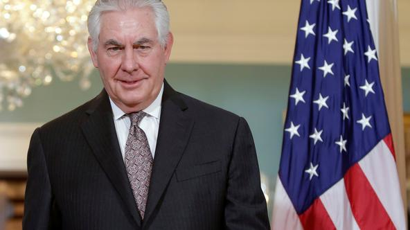 FILE PHOTO: U.S. Secretary of State Rex Tillerson meets with Afghan Foreign Minister Salahuddin Rabbani at the State Department in Washington FILE PHOTO: U.S. Secretary of State Rex Tillerson meets with Afghan Foreign Minister Salahuddin Rabbani at the St