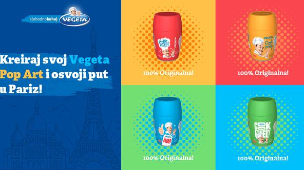 Kreiraj svoj Vegeta Pop Art i osvoji put u Pariz!