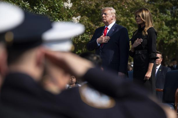 President Trump speaks at the Pentagon for 9/11