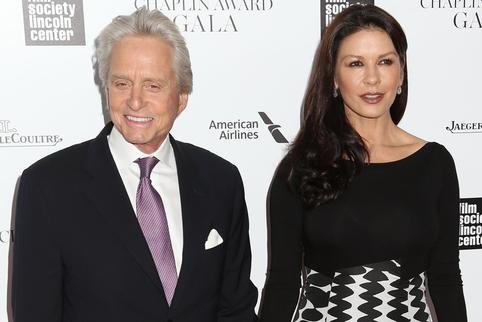 Catherine Zeta-Jones i Michael Douglas