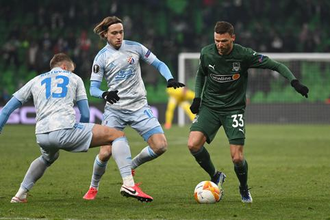 Europa League - Round of 32 First Leg - Krasnodar v GNK Dinamo Zagreb