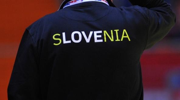 'Slovenia\'s coach Boris Denic reacts after his team lost against Norway during 2012 Men\'s Handball European Championships on January 16, 2012, at the Millennium Arena in Vrsac.     AFP PHOTO / ANDRE