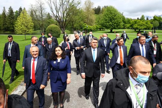 Balkan presidents attend the annual Brdo-Brijuni Process summit in Slovenia
