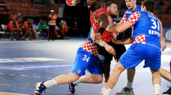 2021 IHF Handball World Championship - Preliminary Round Group C - Angola v Croatia