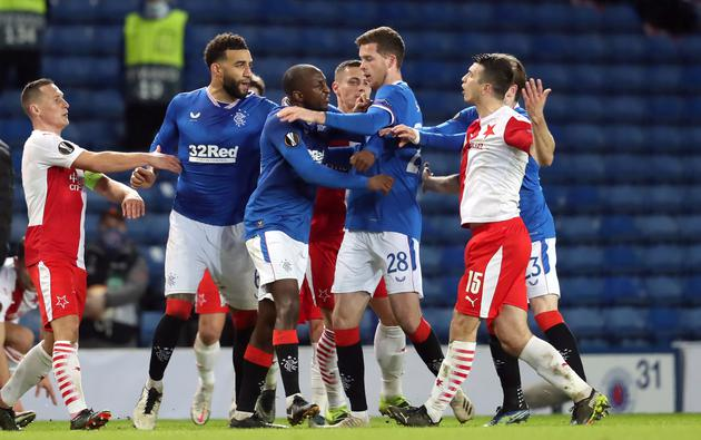 Europa League - Round of 16 Second Leg - Rangers v Slavia Prague