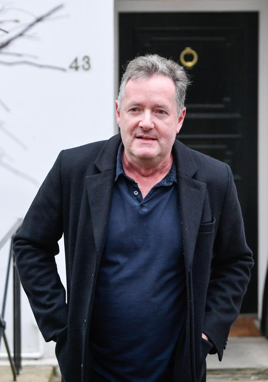 Piers Morgan walks near his house in London | Autor : Toby Melville/REUTERS/PIXSELL/REUTERS/PIXSELL