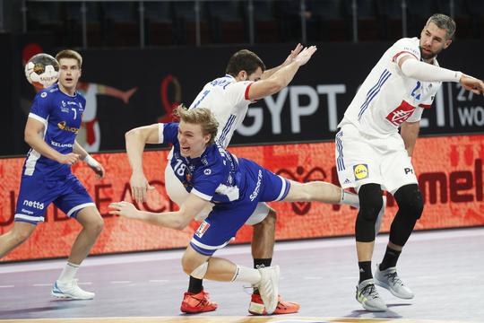 2021 IHF Handball World Championship - Main Round Group 3 - Iceland v France
