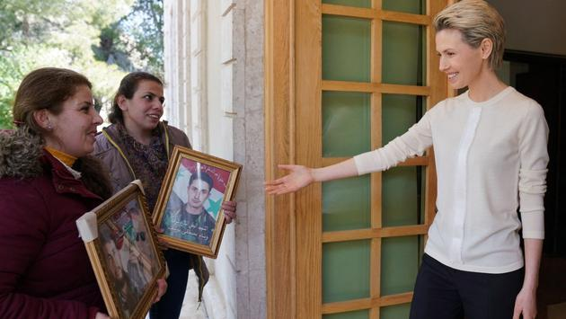 Recent Photos Of Asma Al Assad - Syria