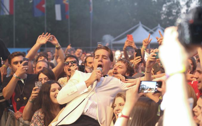 Koncert grupe The Hives na INmusic festivalu