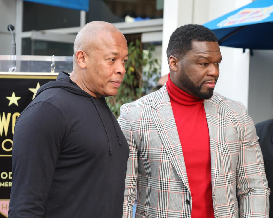 """Curtis """"50 Cent"""" Jackson Is Honored With A Star On The Hollywood Walk Of Fame 