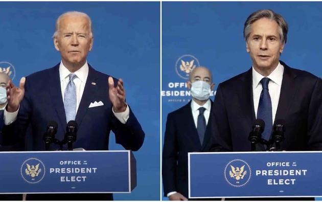 Joe Biden i Antony Blinken