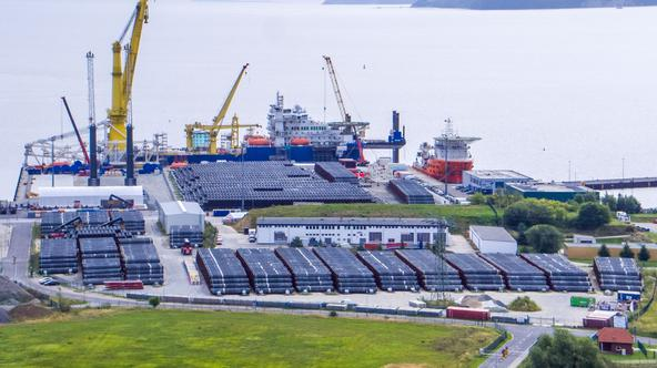 Preparation for further construction of the Nord Stream 2 pipeline