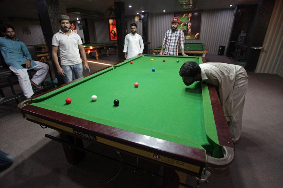 Pakistani born without arms excels in snooker in Samundri, | Autor : MOHSIN RAZA/REUTERS/PIXSELL/REUTERS/PIXSELL