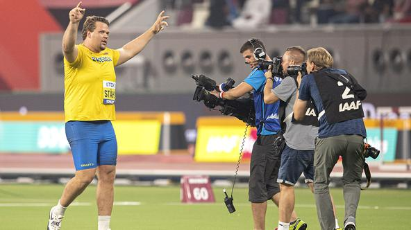Athletics World Championship 2019 in Doha.