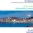 Prvi međunarodni kongres 'Towards Green Growth: Entrepreneurship and Innovation in Tourism'