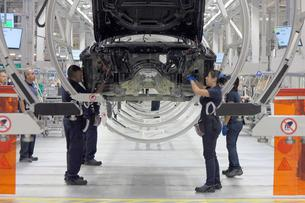 BMW opens new plant in Mexico