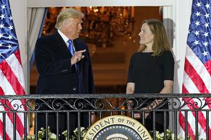 Judge Amy Coney Barrett Swear-In Ceremomy - Washington