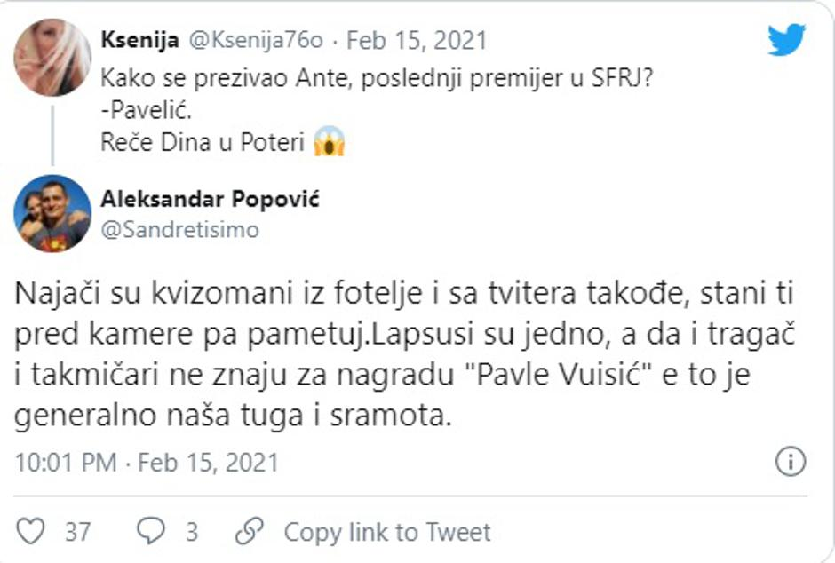 Potjera | Autor : RTS/Screenshot