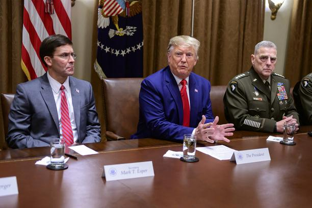 Trump Dismisses Defence Minister Mark Esper