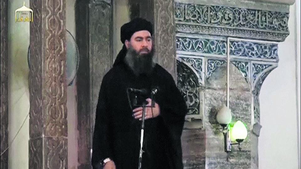 A man purported to be the reclusive leader of the militant Islamic State Abu Bakr al-Baghdadi has made what would be his first public appearance at a mosque in the centre of Iraq's second city, Mosul, according to a video recording posted on the Internet