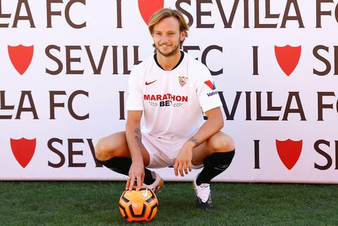 Sevilla's official presentation of new signing Ivan Rakitic