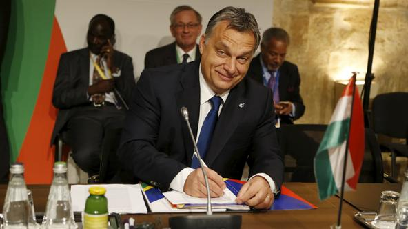 Hungarian Prime Minister Victor Orban attends the Valletta Summit on Migration in Valletta, Malta, November 12, 2015. REUTERS/Darrin Zammit Lupi   MALTA OUT. NO COMMERCIAL OR EDITORIAL SALES IN MALTA