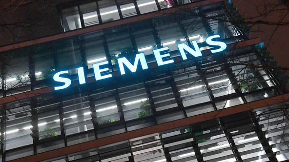 Not an increase, but moderate losses - that is the new Siemens forecast for the current year.