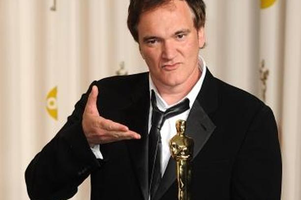 'Quentin Tarantino with the Oscar for Original Screenplay for Django Unchained at the 85th Academy Awards at the Dolby Theatre, Los Angeles.Photo: Press Association/PIXSELL'