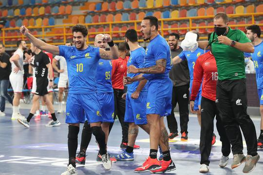 2021 IHF Handball World Championship - Preliminary Round Group B - Tunisia v Brazil
