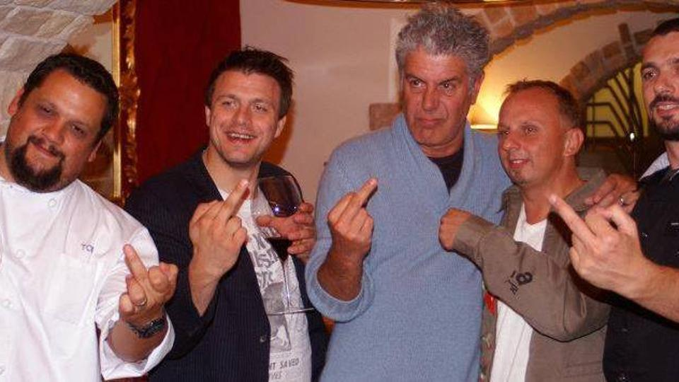 Tom Gretić, Mate Janković, Anthony Bourdain, Deniz Zembo, David Skoko
