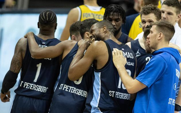 Basketball: Euroleague, Alba Berlin - Zenit St. Petersburg