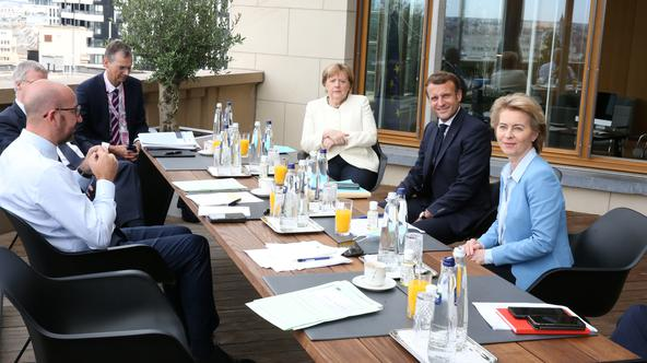 EU leaders summit in Brussels