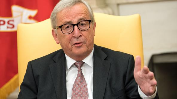 Donald Trump i Jean-Claude Juncker