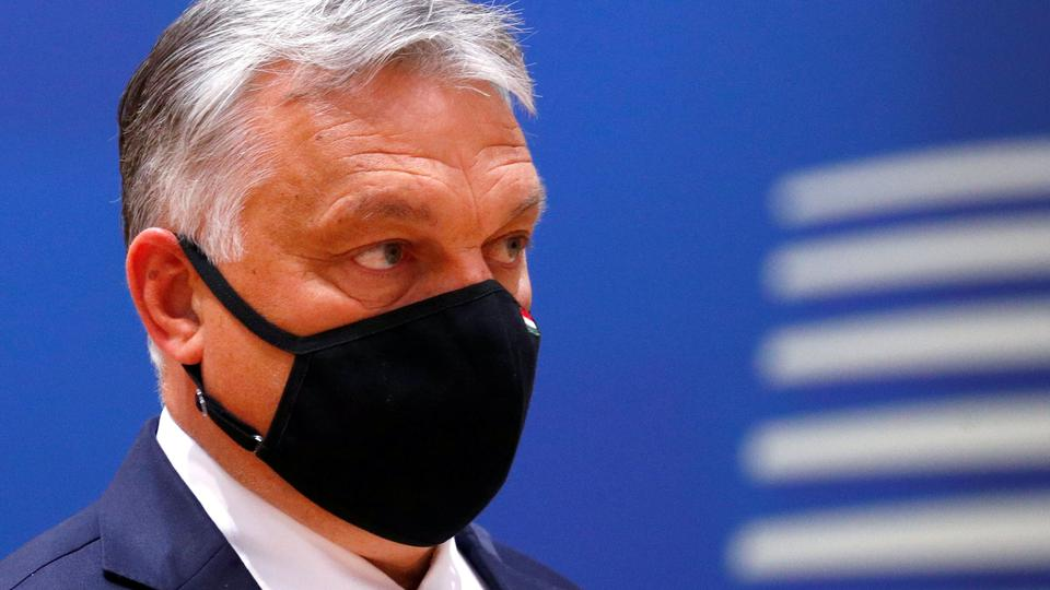 FILE PHOTO: Hungarian Prime Minister Viktor Orban takes part in a European Union summit in Brussels