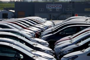 FILE PHOTO: Toyota Motor Manufacturing France resumes operations after five week closure amid the coronavirus disease (COVID-19) outbreak