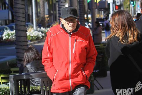 Larry King Sighting - Los Angeles