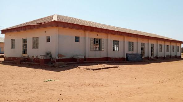 The Government Science secondary school is seen in Kankara district, after it was attacked by armed bandits, in northwestern Katsina state