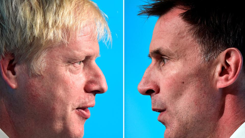 Boris Johnson i Jeremy Hunt