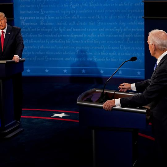 Final 2020 U.S. presidential campaign debate in Nashville