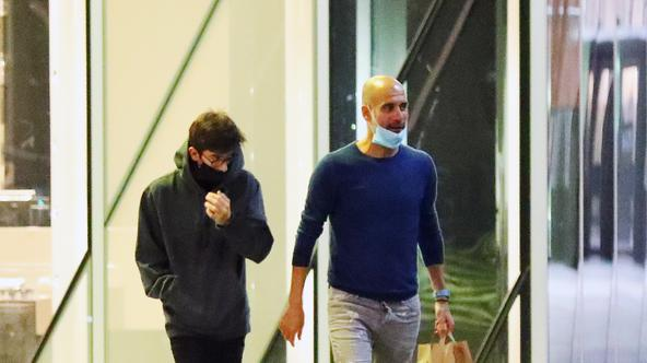 Manchester City manager Pep Guardiola Sighting - Manchester