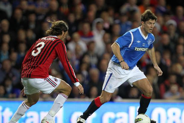 Soccer - Legends Match - Rangers v AC Milan - Ibrox Stadium