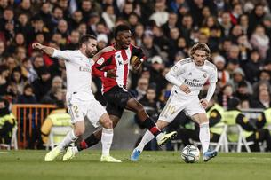 LA LIGA:  REAL MADRID VS ATHLETIC