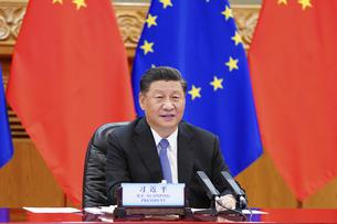 CHINA-BEIJING-XI JINPING-EU LEADERS-MEETING (CN)