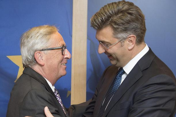 Image result for juncker plenković